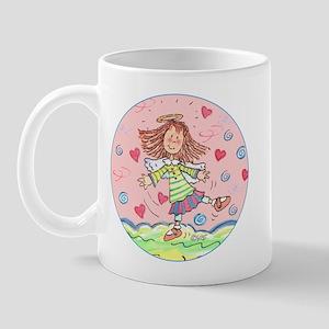 Dancing Angel Thanks Mug