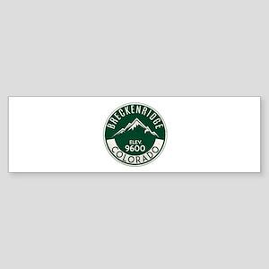 Breckenridge Colorado Skiing Bumper Sticker