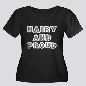 Hairy And Proud (black plus size)