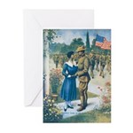 Colored Man Is No Slacke Greeting Cards (pk Of 10)