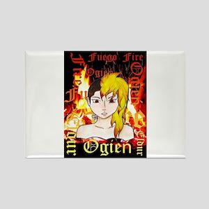 Darla Fire Pic Magnets