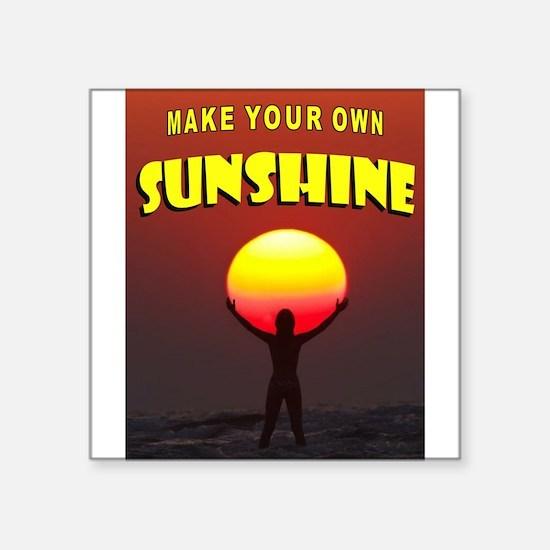 SUN HOLDER Sticker