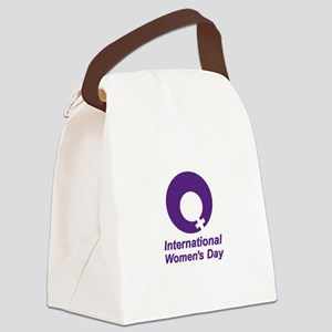 International Women's Day Canvas Lunch Bag