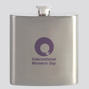 International Women's Day Flask