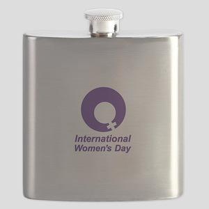 International Women's Day Flask