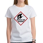 Witch on Board Women's T-Shirt