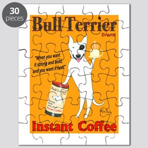 Bull Terrier Coffee Puzzle