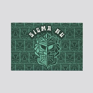 Sigma Nu Beach Rectangle Magnet