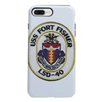 USS FORT FISHER iPhone 8/7 Plus Tough Case