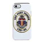 USS FORT FISHER iPhone 8/7 Tough Case