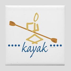 Kayak Tile Coaster