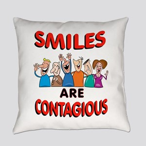 Smiling Group Everyday Pillow