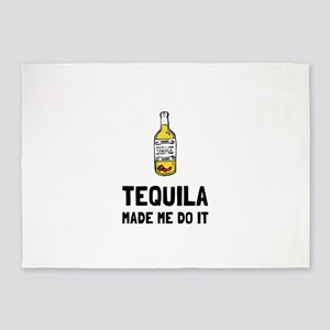 Tequila Made Me Do It 5'x7'Area Rug