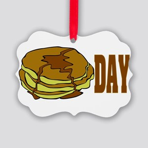 Pancake Day Picture Ornament