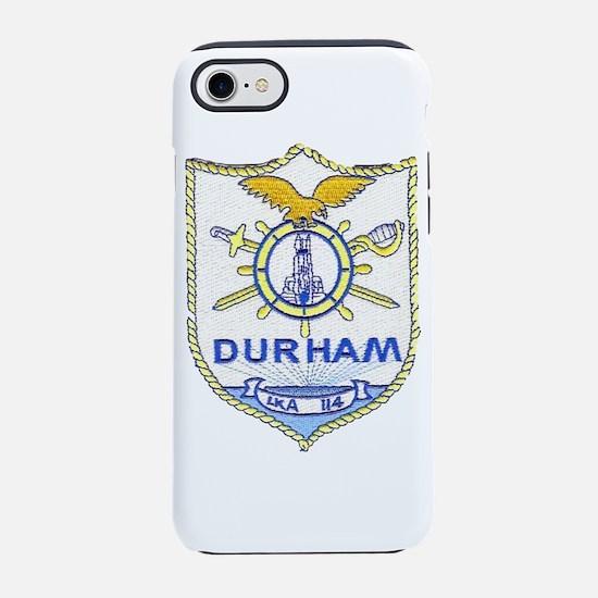 USS DURHAM iPhone 8/7 Tough Case