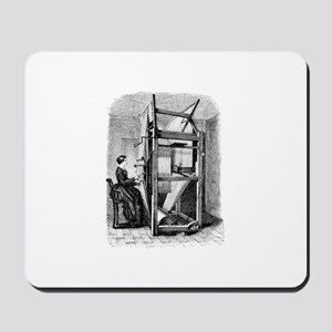 Weaver - Woman at Weaving Loo Mousepad