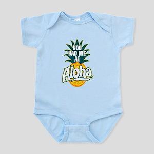 You Had Me At Aloha Baby Light Bodysuit