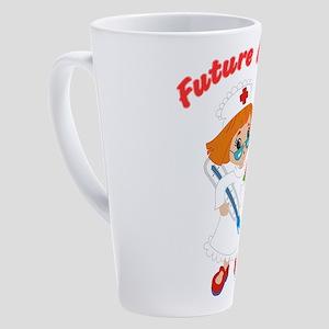 Future Nurse 17 oz Latte Mug