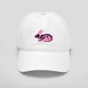 Pink Skeleton Rabbit Cap