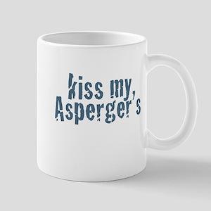 Kiss My Aspergers Mugs