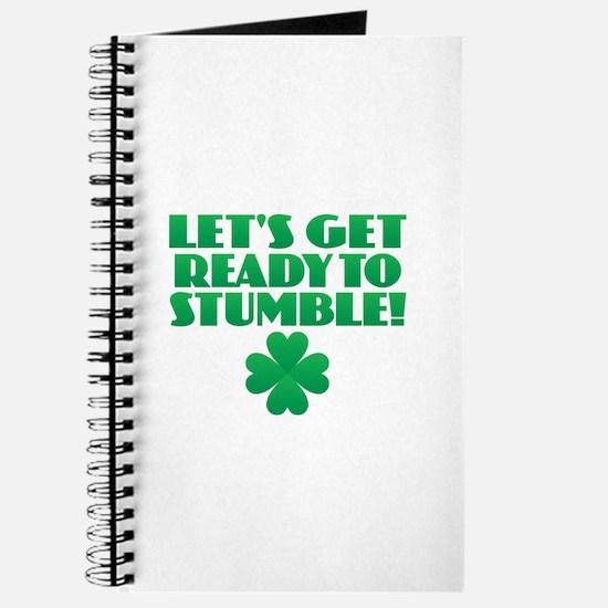 Ready to Stumble Journal