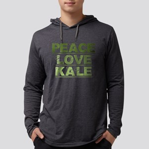 Peace Love Kale Long Sleeve T-Shirt