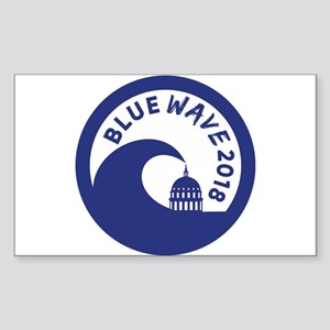 Blue Wave 2018 Midterm Election Sticker