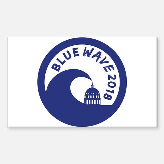 Blue Wave 2018 Midterm Election Decal