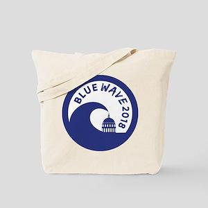 Blue Wave 2018 Midterm election Tote Bag