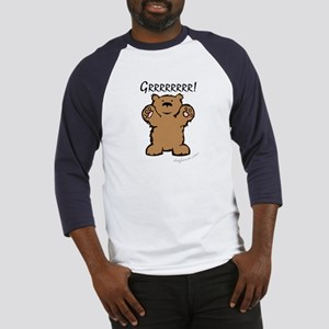 Grrrrrrrr! (Bear) Baseball Jersey