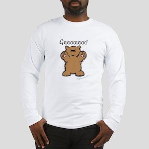 Grrrrrrrr! (Bear) Long Sleeve T-Shirt