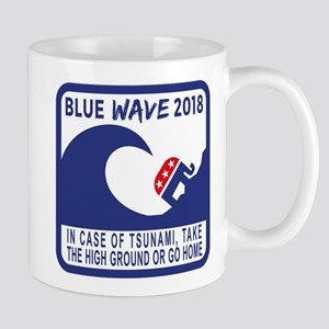 blue wave 2018 cups, mugs, 11 oz Ceramic Mug