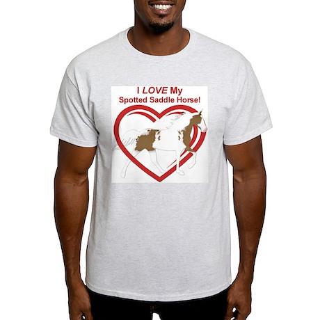 I LOVE my SSH Flat Shod Ash Grey T-Shirt