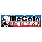 McCain is my Homeboy Bumper Sticker