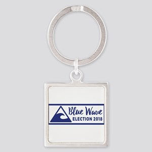 Blue Wave 2018 Midterm Election Keychains