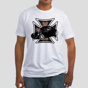 Motor City Cross  Fitted T-Shirt