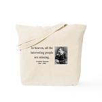 Nietzsche 8 Tote Bag