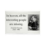 Nietzsche 8 Rectangle Magnet (100 pack)