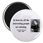 """Nietzsche 8 2.25"""" Magnet (10 pack)"""