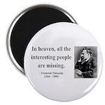 """Nietzsche 8 2.25"""" Magnet (100 pack)"""