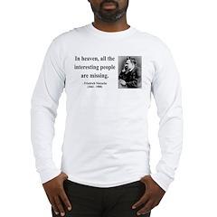 Nietzsche 8 Long Sleeve T-Shirt