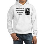 Nietzsche 8 Hooded Sweatshirt