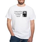 Nietzsche 8 White T-Shirt
