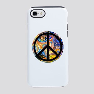 Abstract Peace iPhone 8/7 Tough Case
