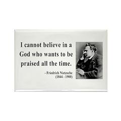 Nietzsche 5 Rectangle Magnet (100 pack)