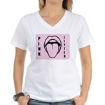Pink Litter Tongue Bite It T-Shirt