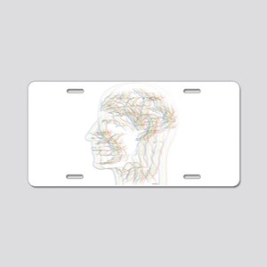 Existence Aluminum License Plate