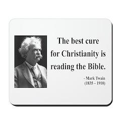 Mark Twain 20 Mousepad