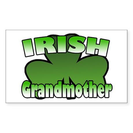 Irish Grandmother Rectangle Sticker