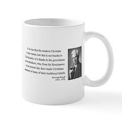 Bertrand Russell 14 Mug